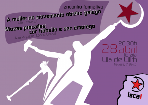 Cartaz palestra feminista