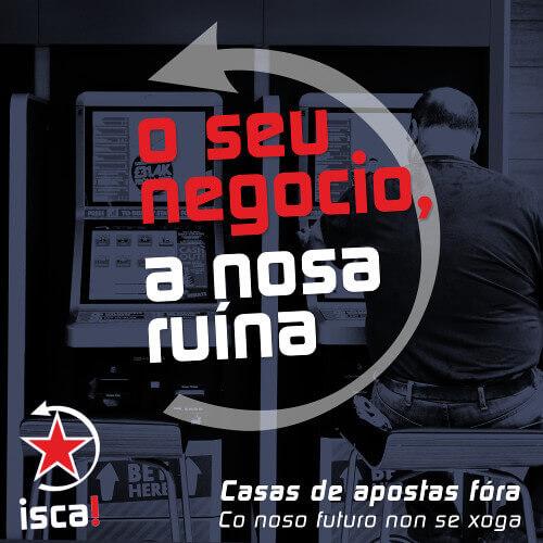 Colante casas de aposta fóra da Galiza