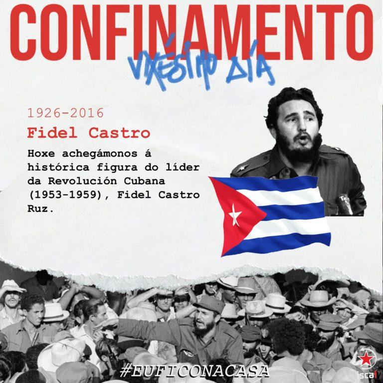 Fidel Castro confinamento