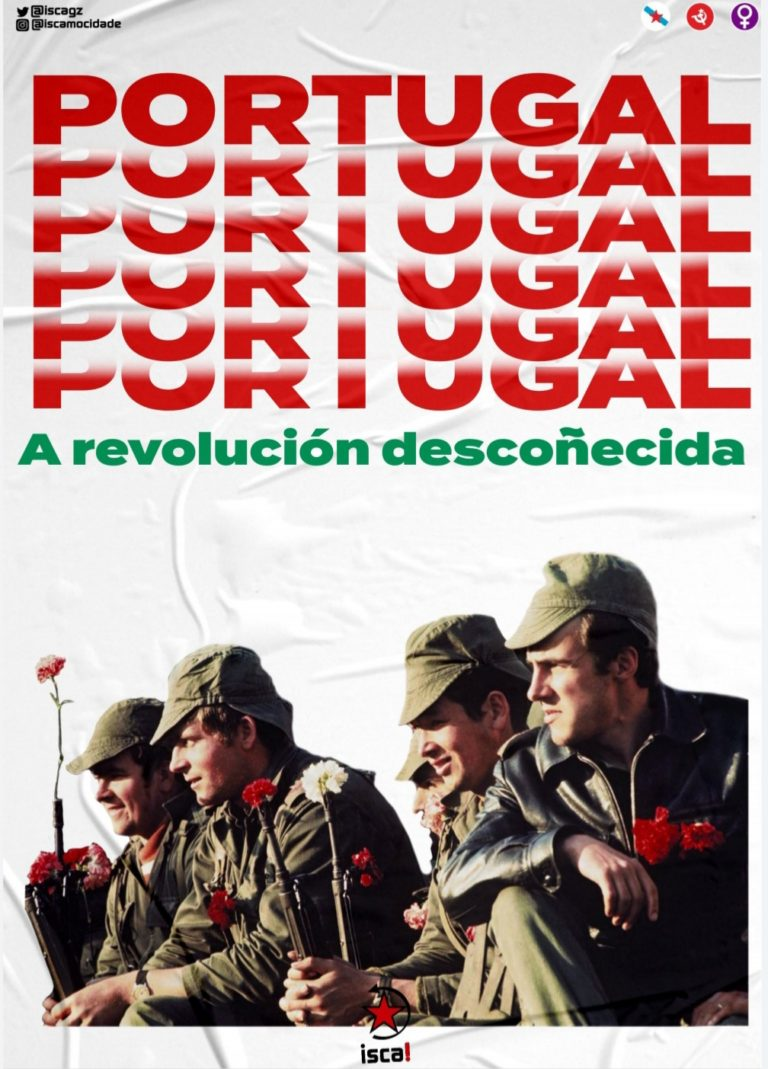 Caderno Isca Revolución portuguesa