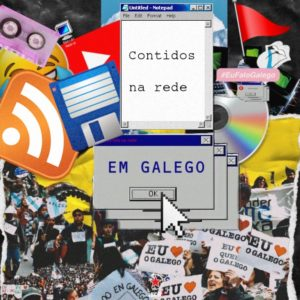 Contidos na rede en galego